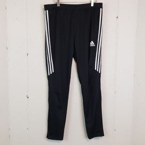 Adidas climate cool blk/white joggers